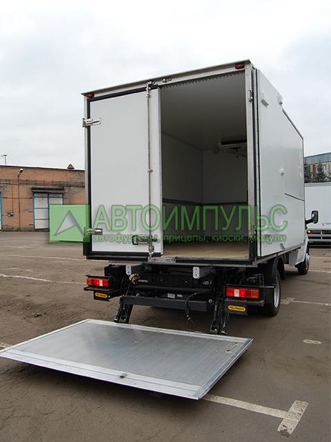 Продажа фургонов в СПб на базе
